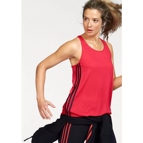 NU 15% KORTING: ADIDAS PERFORMANCE tanktop »ESSENTIALS 3S LOOSE TANK«