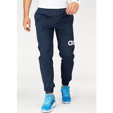 NU 15% KORTING: ADIDAS PERFORMANCE joggingbroek »ESSENTIALS PERFORMANCE LOGO TAPERED SINGLE JERSEY P