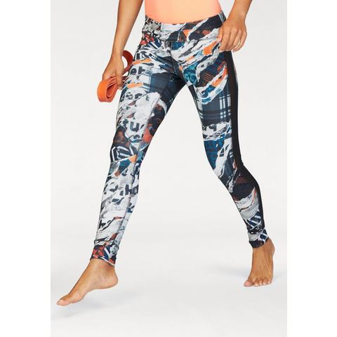 NU 15% KORTING: REEBOK functionele broek »DANCE GARDEN REBEL TIGHT«