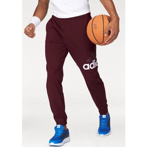 ADIDAS PERFORMANCE joggingbroek »ESSENTIALS PERFORMANCE LOGO TAPERED SINGLE JERSEY PANT«