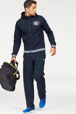 h.i.s joggingpak comfort fit (2-delig) blauw