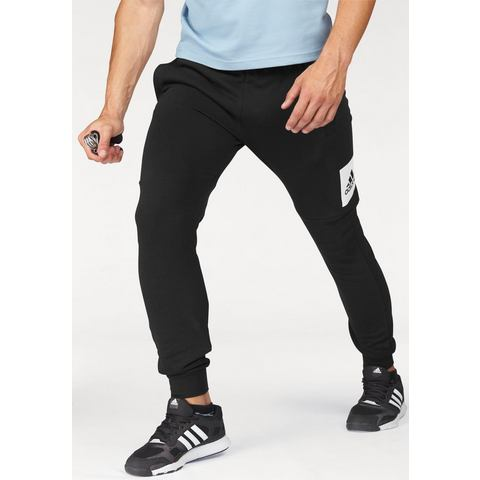 NU 15% KORTING: ADIDAS PERFORMANCE joggingbroek »ESSENTIALS BOX LOGO SLIM TAPERED FRENCH TERRY PANT«