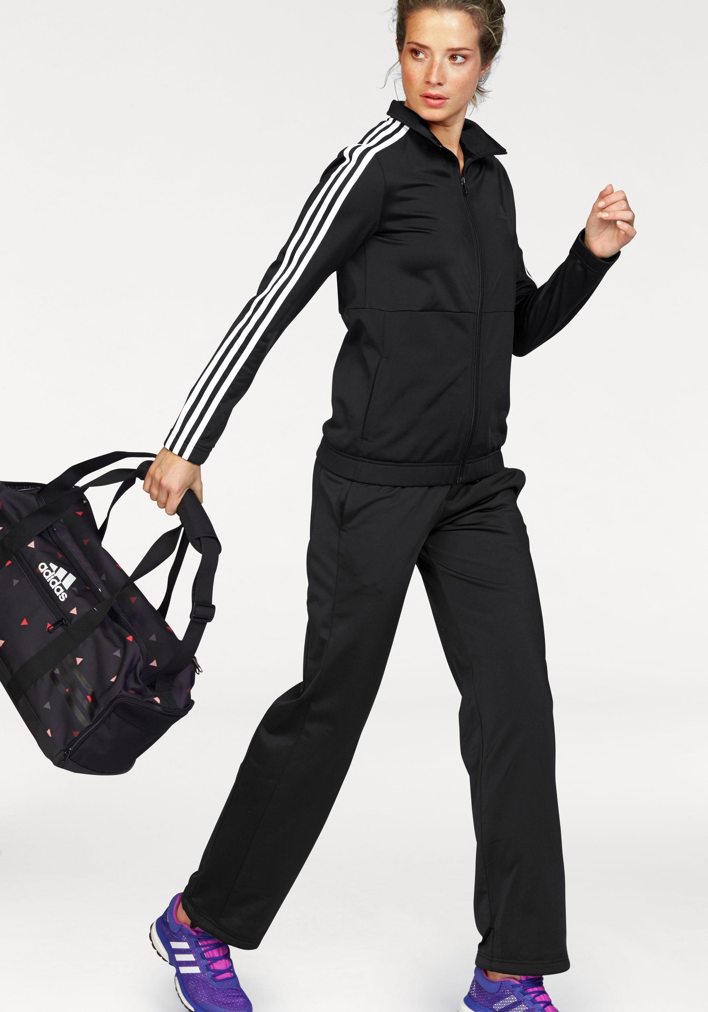 adidas Performance trainingspak »BACK2BASIC 3S TRACKSUIT« - gratis ruilen op otto.nl