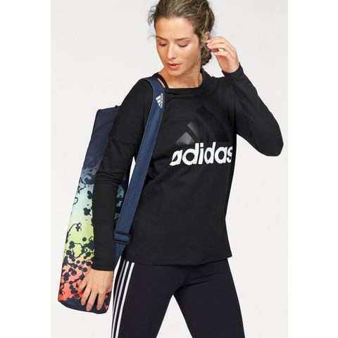 NU 15% KORTING: ADIDAS PERFORMANCE shirt met lange mouwen »ESSENTIALS LINEAR LONGSLEEVE«