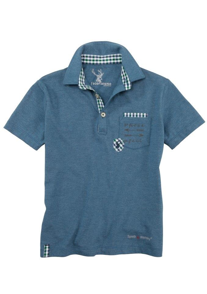 spieth wensky folklore shirt voor kinderen in poloshirt. Black Bedroom Furniture Sets. Home Design Ideas