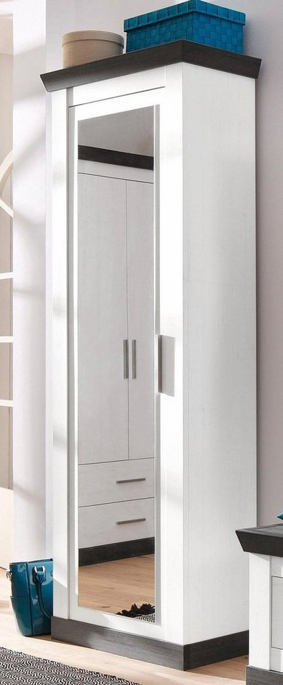 HOME AFFAIRE garderobekast Siena met spiegel