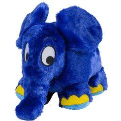 warmies thermokussen de blauwe olifant uit de show met de muis voor de magnetron en de oven blauw