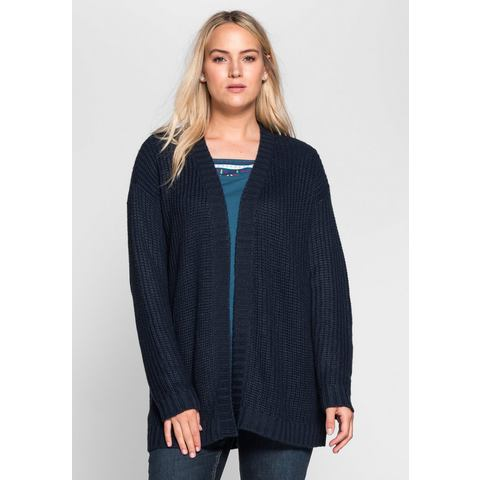SHEEGO CASUAL cardigan in grofbreisel
