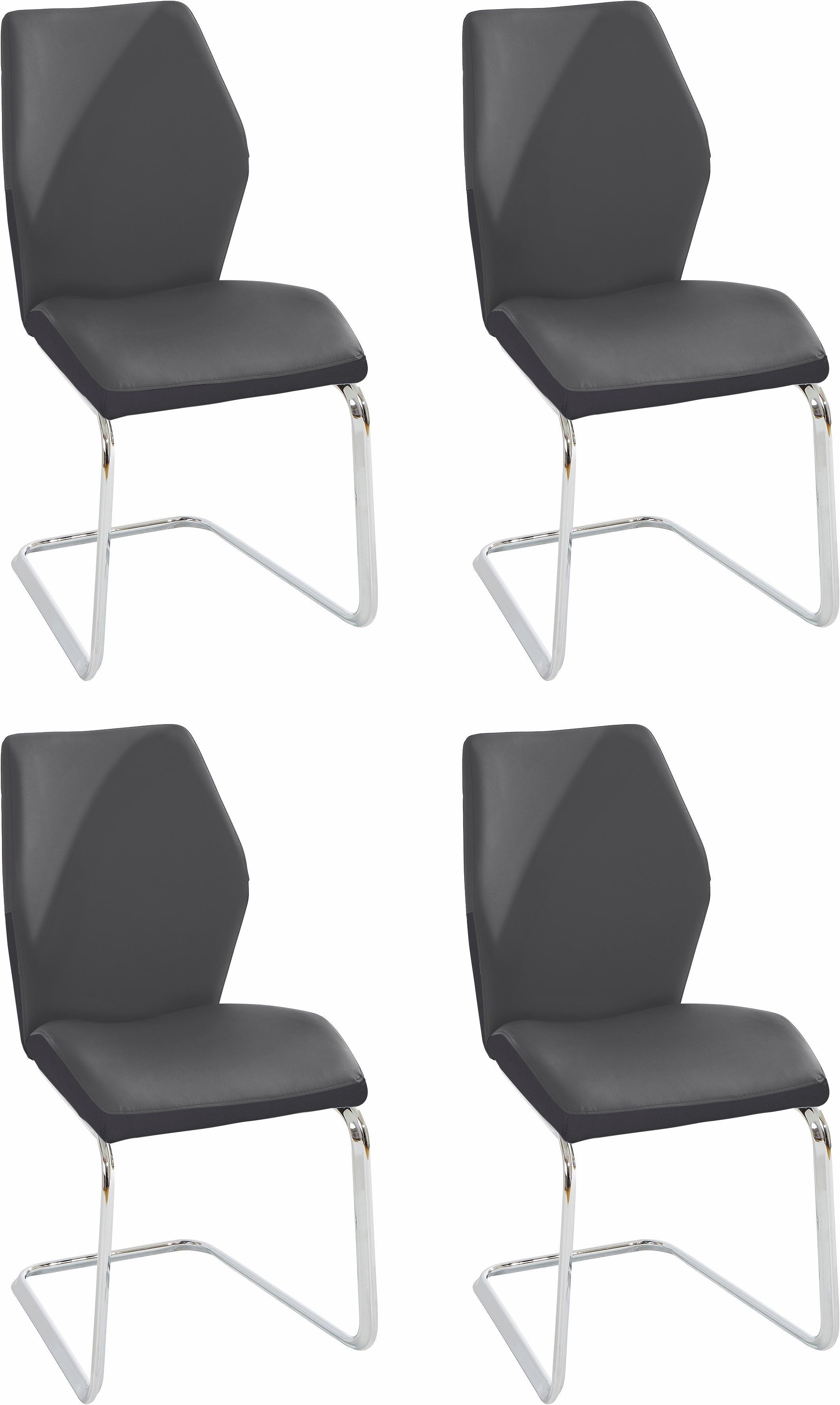 Homexperts Vrijdragende stoel »Snap04« (set van 2 of 4) - verschillende betaalmethodes