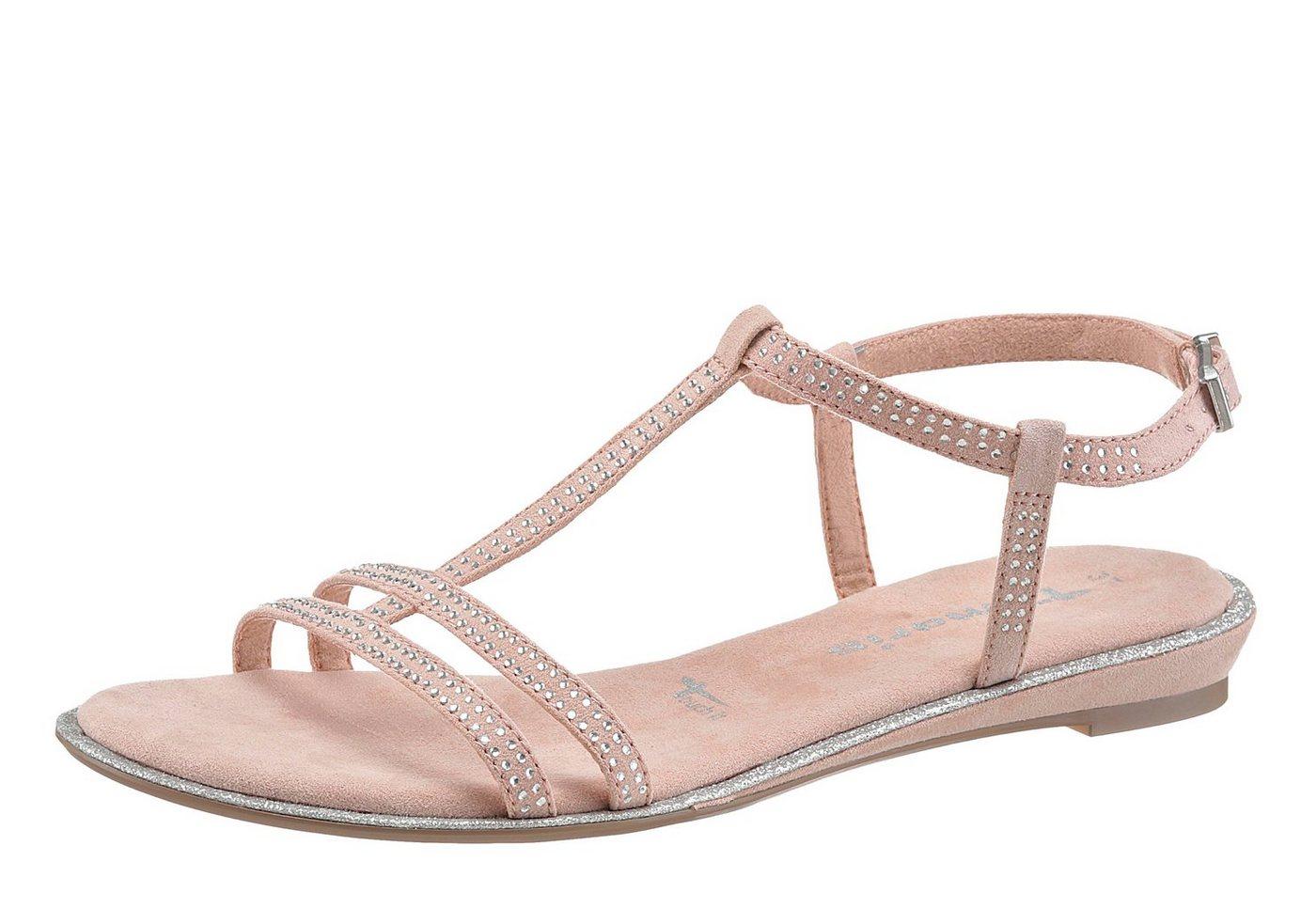 nu 15 korting tamaris sandalen met fonkelende steentjes. Black Bedroom Furniture Sets. Home Design Ideas