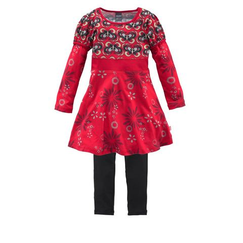 Kidoki NU 15% KORTING: KIDOKI Jersey-jurk met legging in 2-delige set