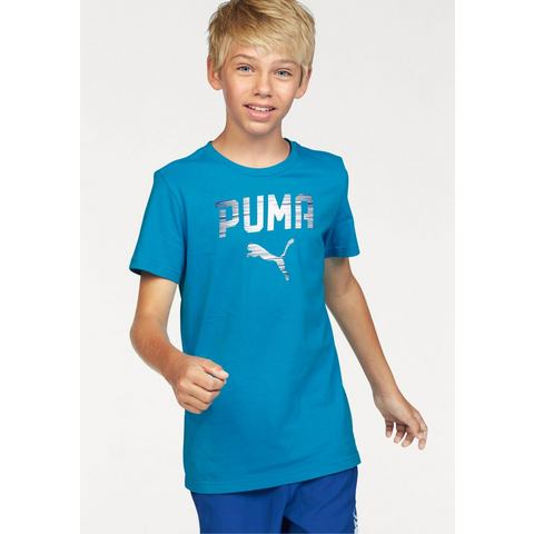 NU 20% KORTING: PUMA T-shirt »REBEL TEE«