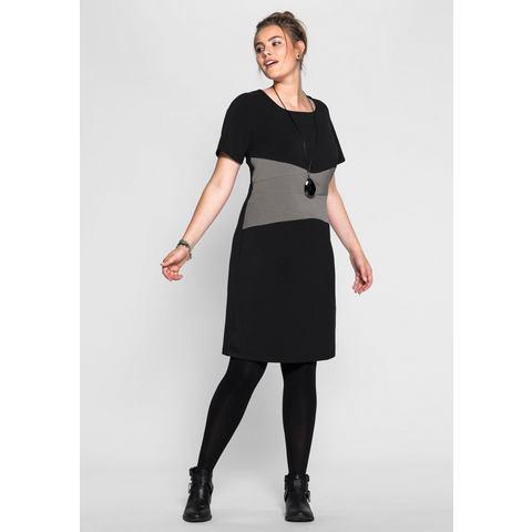 Picture SHEEGO TREND jurk zwart 840070