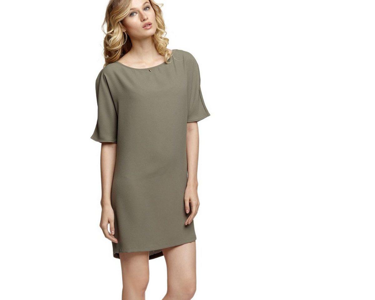 Guess jurk met rugdecolleté groen