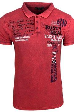 rusty neal t-shirt roze