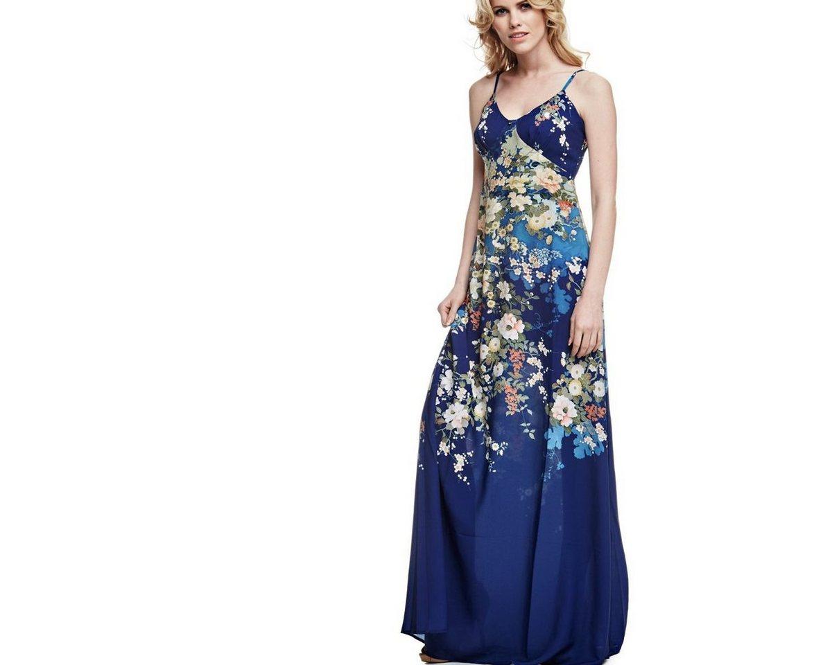 NU 21% KORTING: Guess lange jurk in bloemdessin multicolor