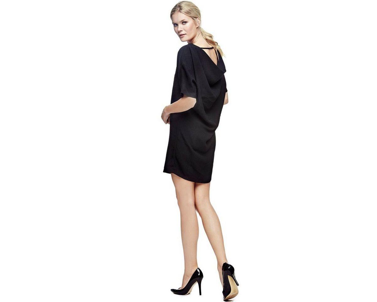Guess jurk met rugdecolleté zwart