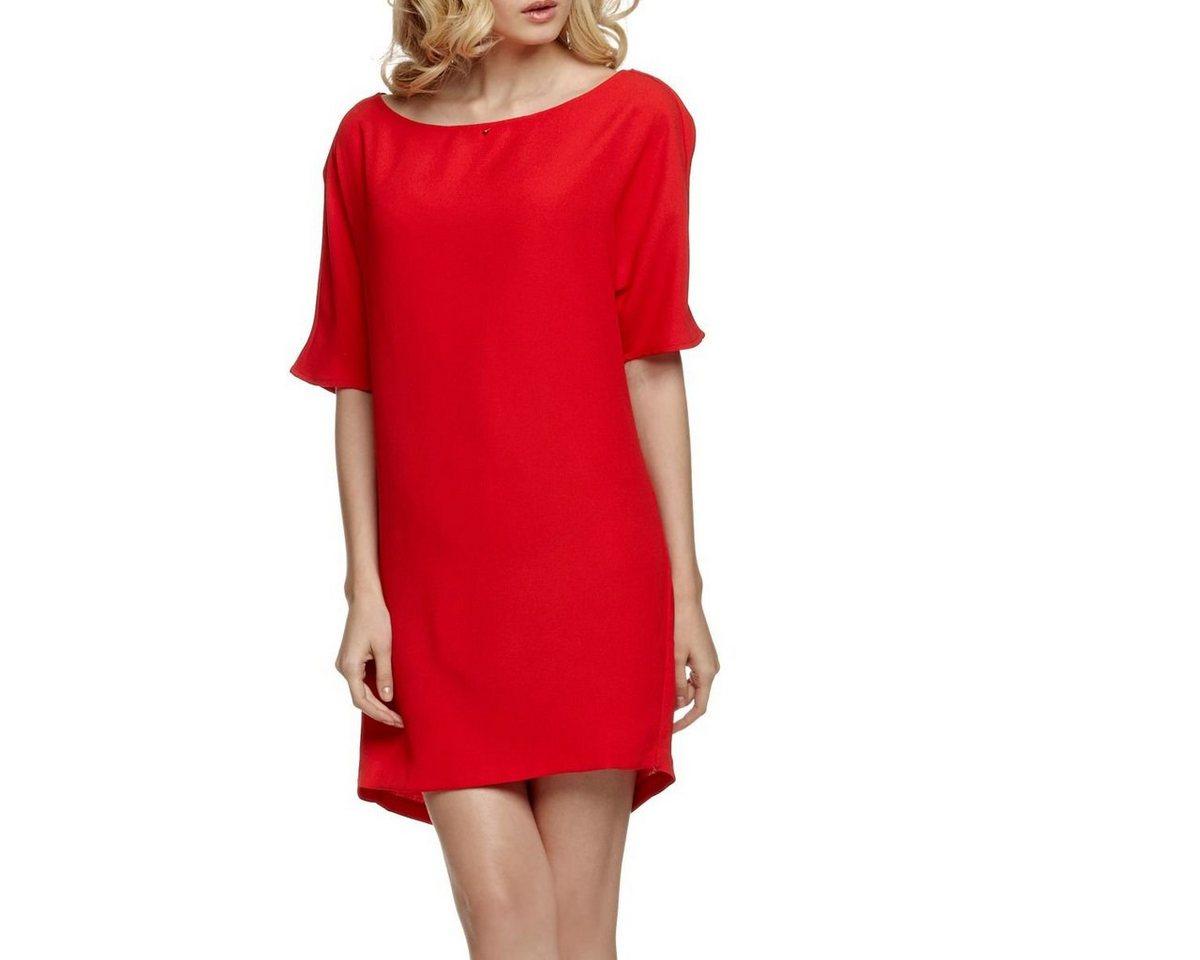 Guess jurk met rugdecolleté rood
