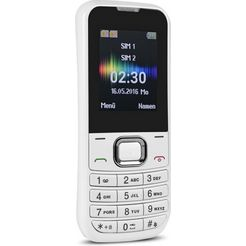 swisstone mobiele telefoon »sc 230« wit