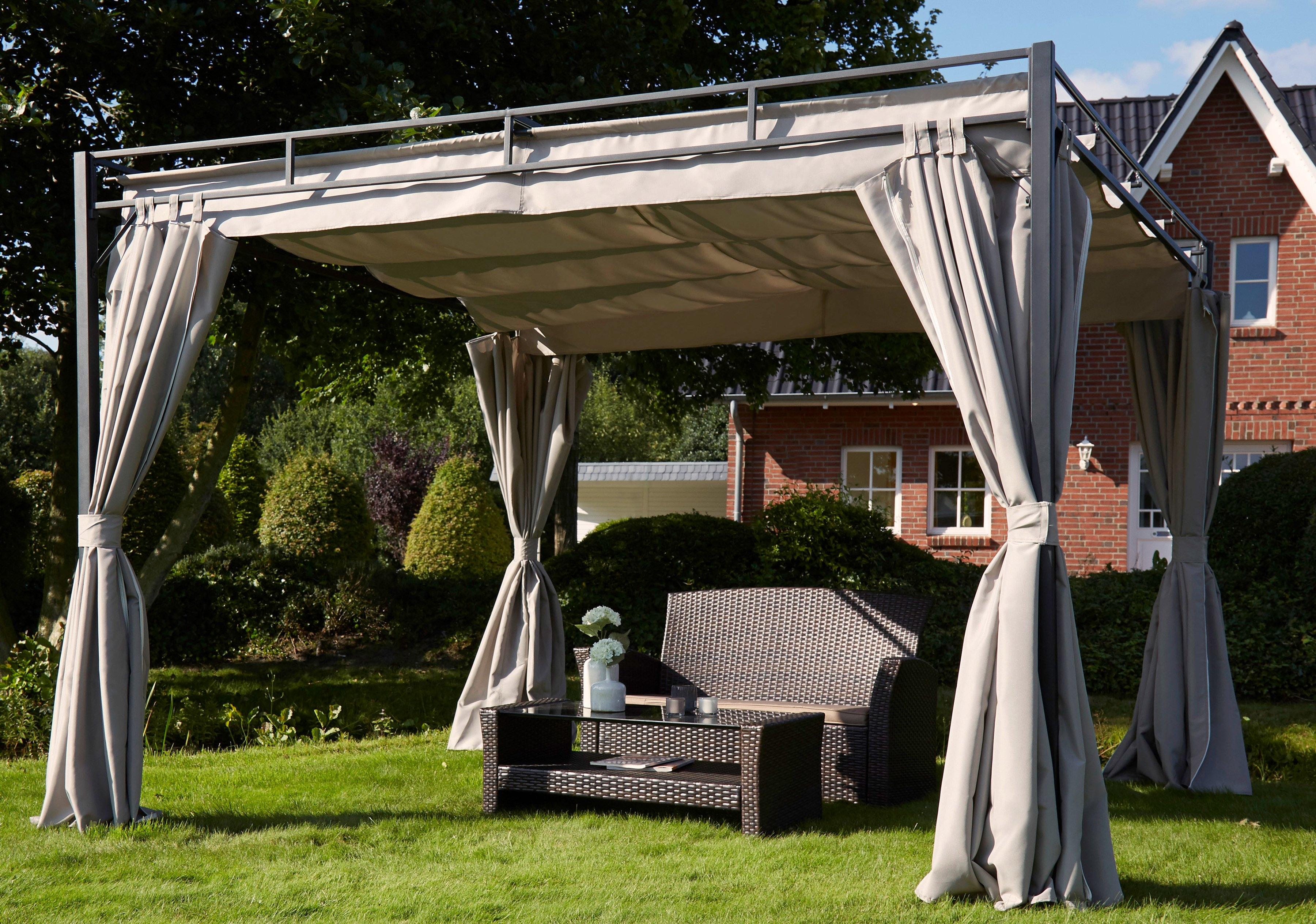 paviljoen kopen keuze uit wel 10 paviljoens online otto. Black Bedroom Furniture Sets. Home Design Ideas