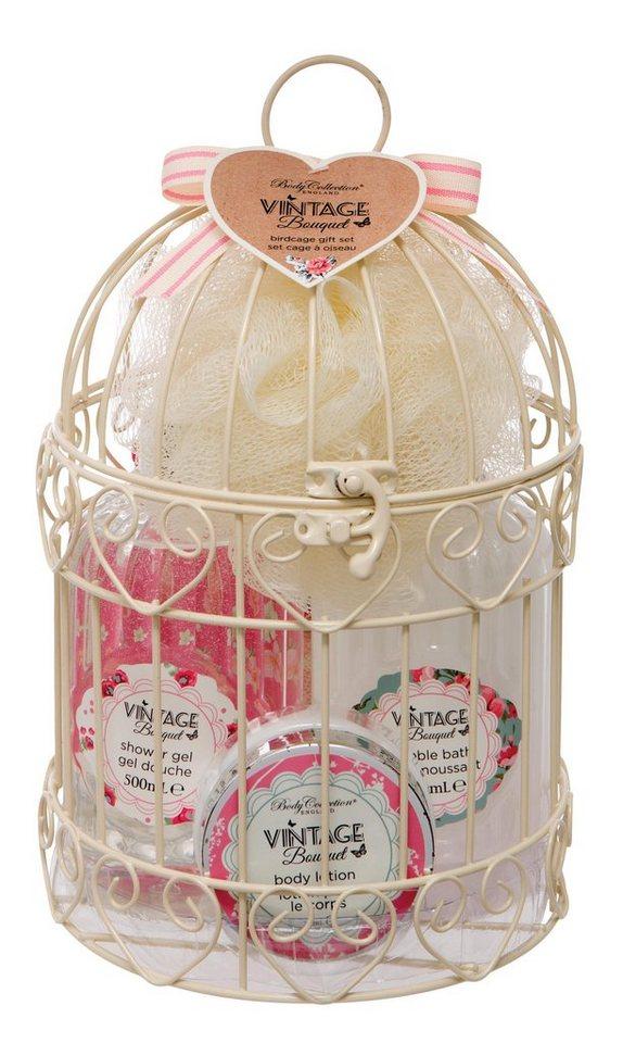 »Birdcage Gift Set« lichaamsverzorgingsset