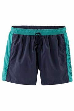 buffalo zwemshort in lang of kort model blauw