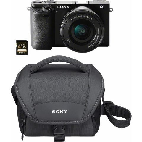 SONY Systeemcamera ILCE-6000L 24,3 megapixel