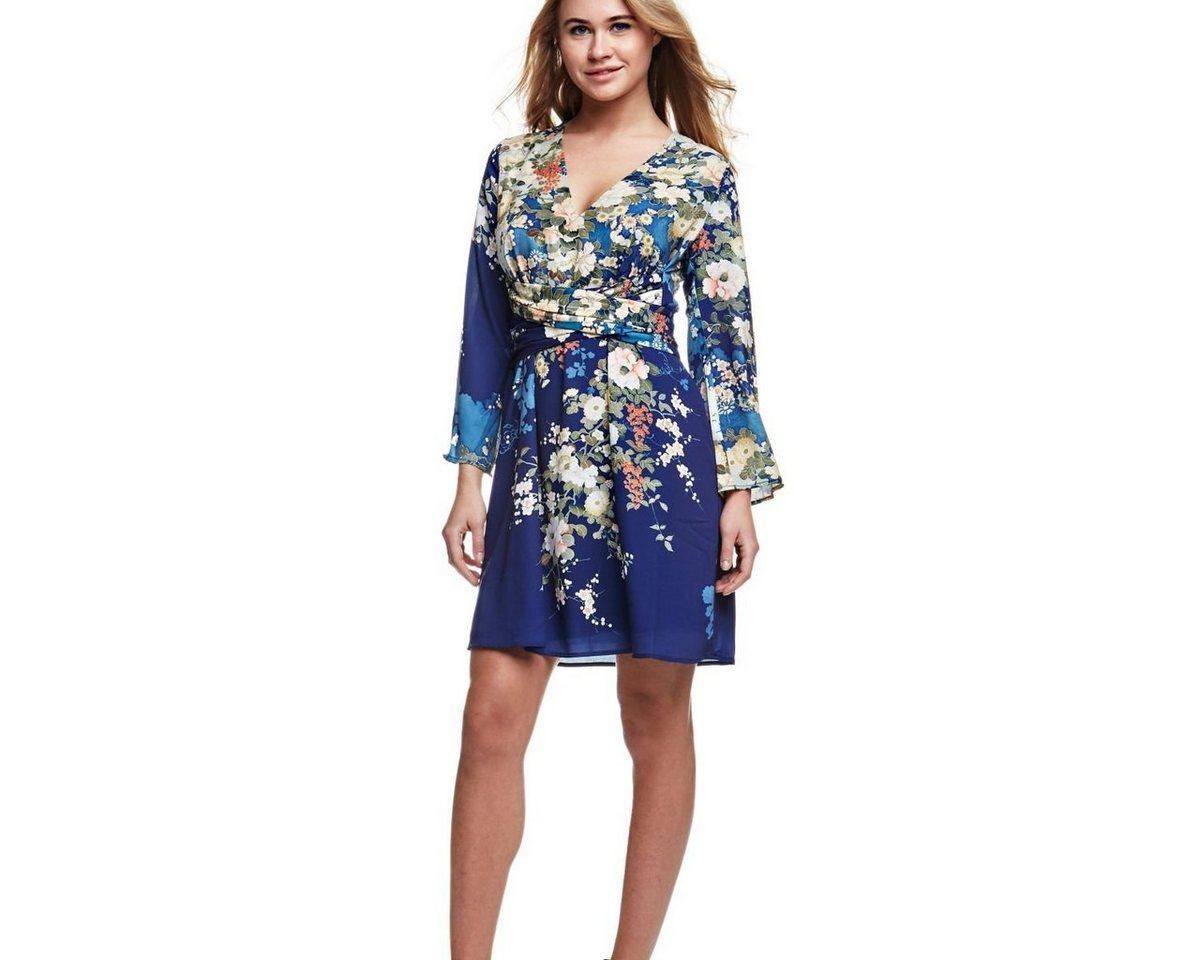 Guess jurk met bloemdessin multicolor