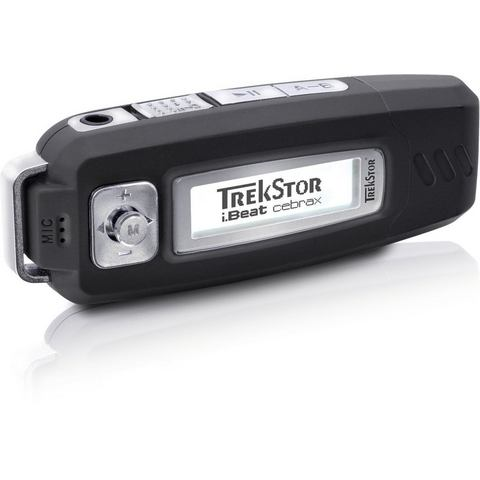 Trekstor Trekstor i.beat cebrax portableer Mp3 Player LCD 4GB black (71816)