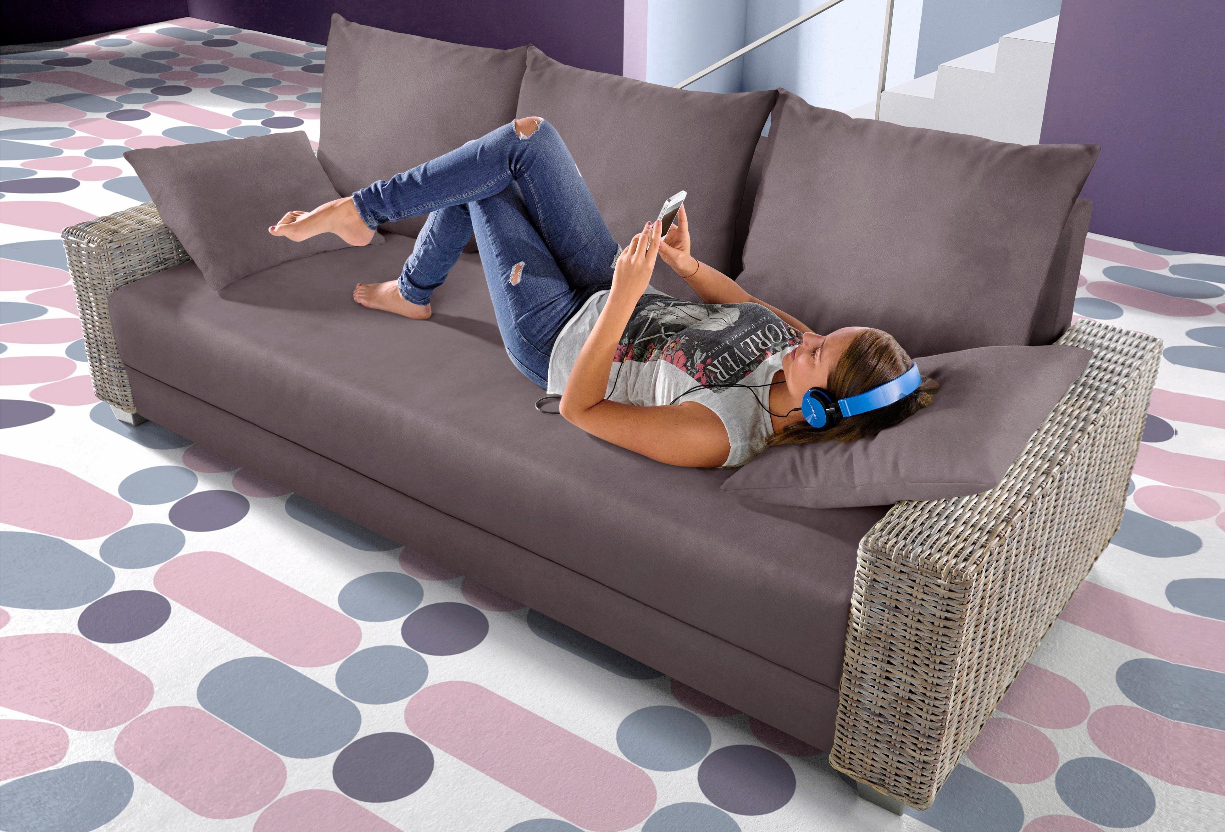 Inosign Bedbank met rotan-armleuningen bij OTTO online kopen