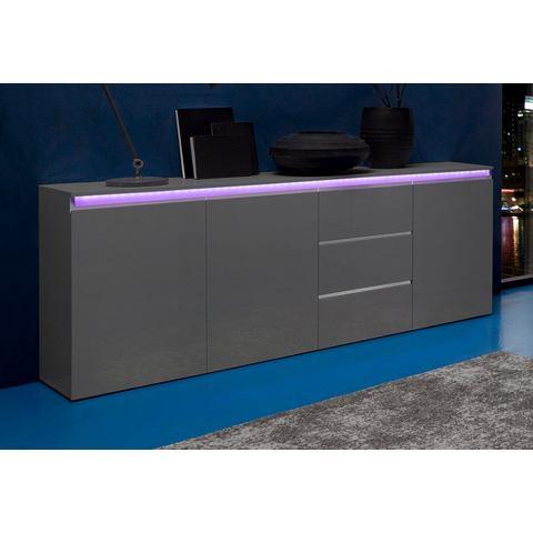 Dressoirs Tecnos sideboard breedte 200 cm 482292