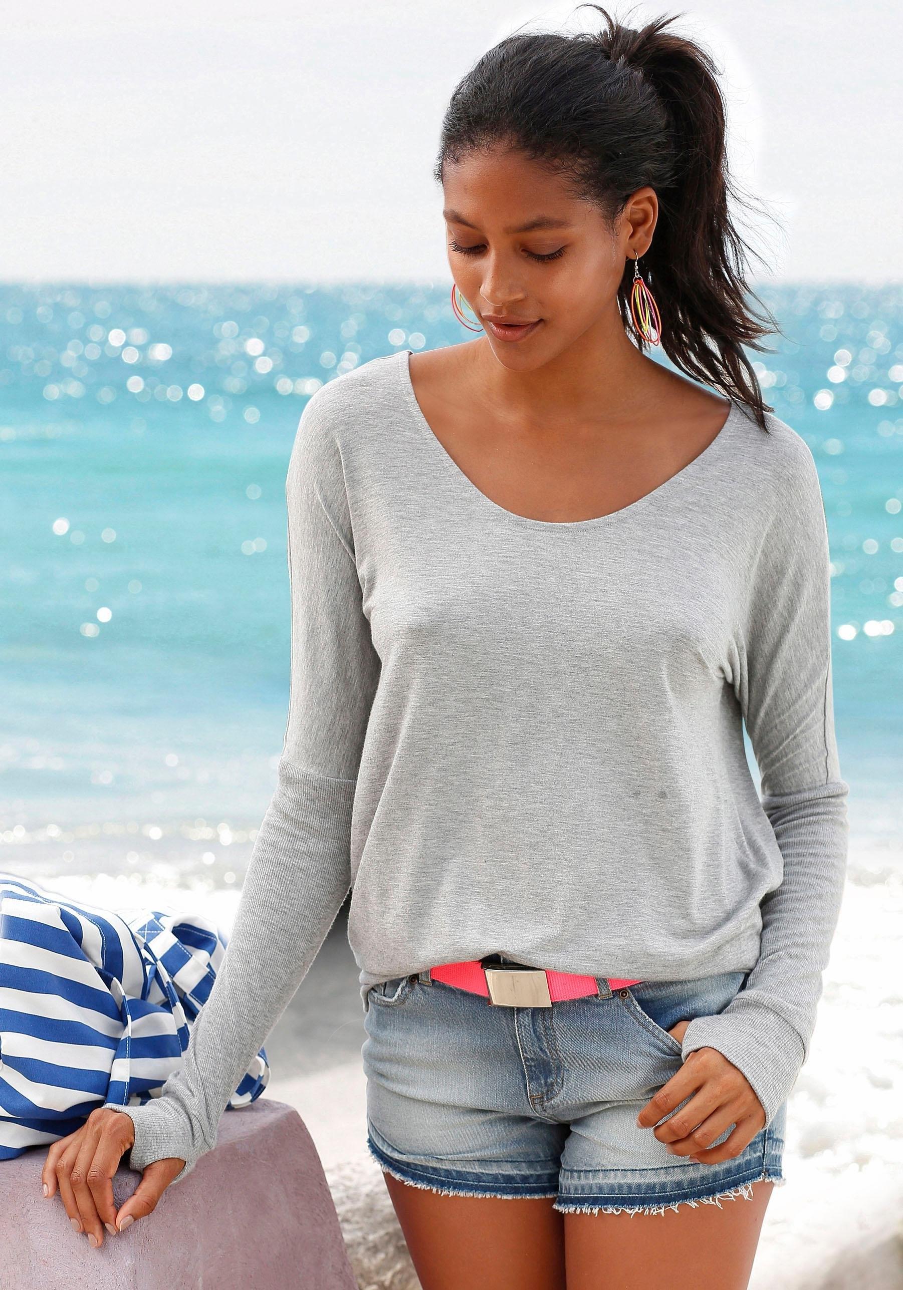 Met Ruglijn Lage Strandshirt Bestellen Bench Online qzVUGSMp