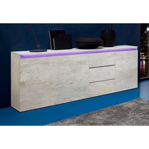 Dressoirs Tecnos sideboard breedte 200 cm 889286