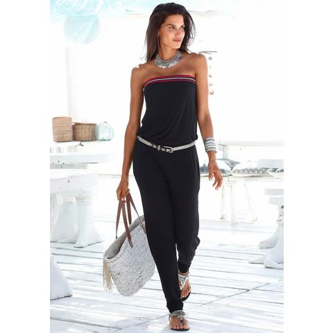 S.OLIVER RED LABEL Beachwear jumpsuit met gehaakt detail