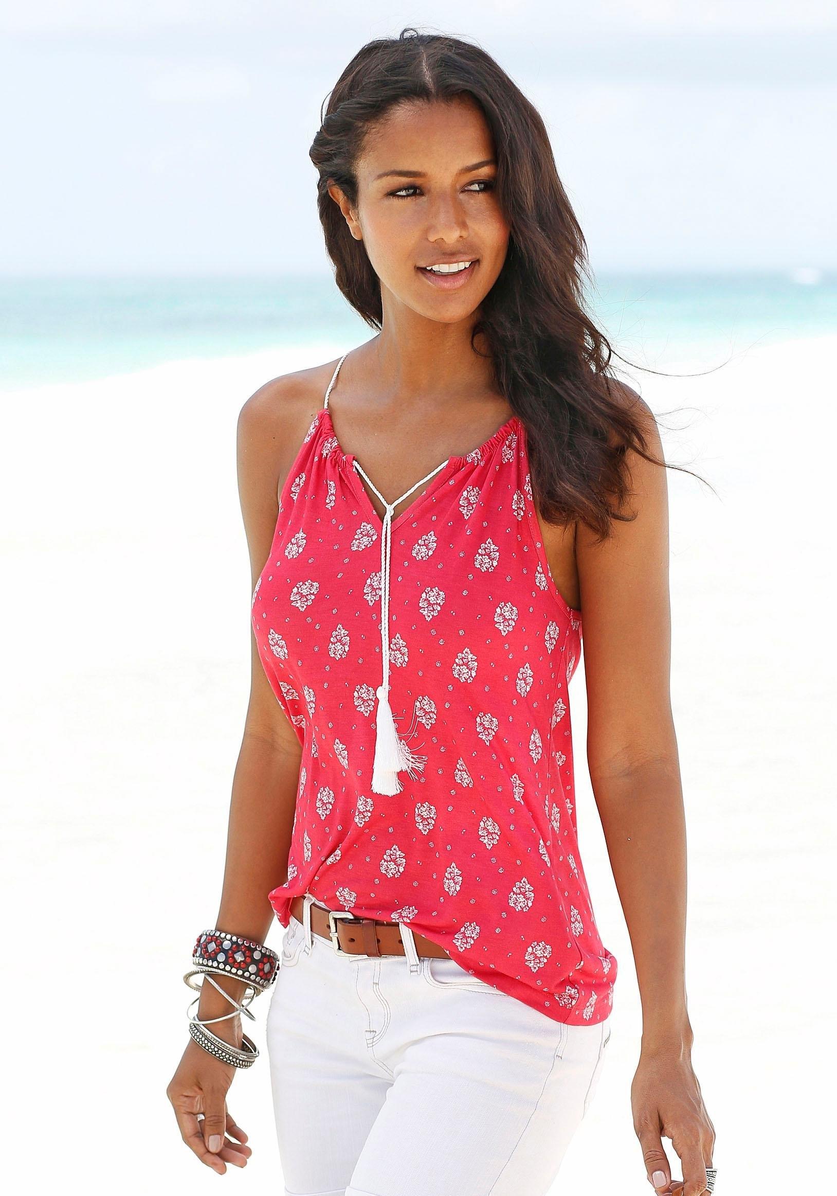 s.Oliver Beachwear S.OLIVER RED LABEL Beachwear strandtop nu online kopen bij OTTO