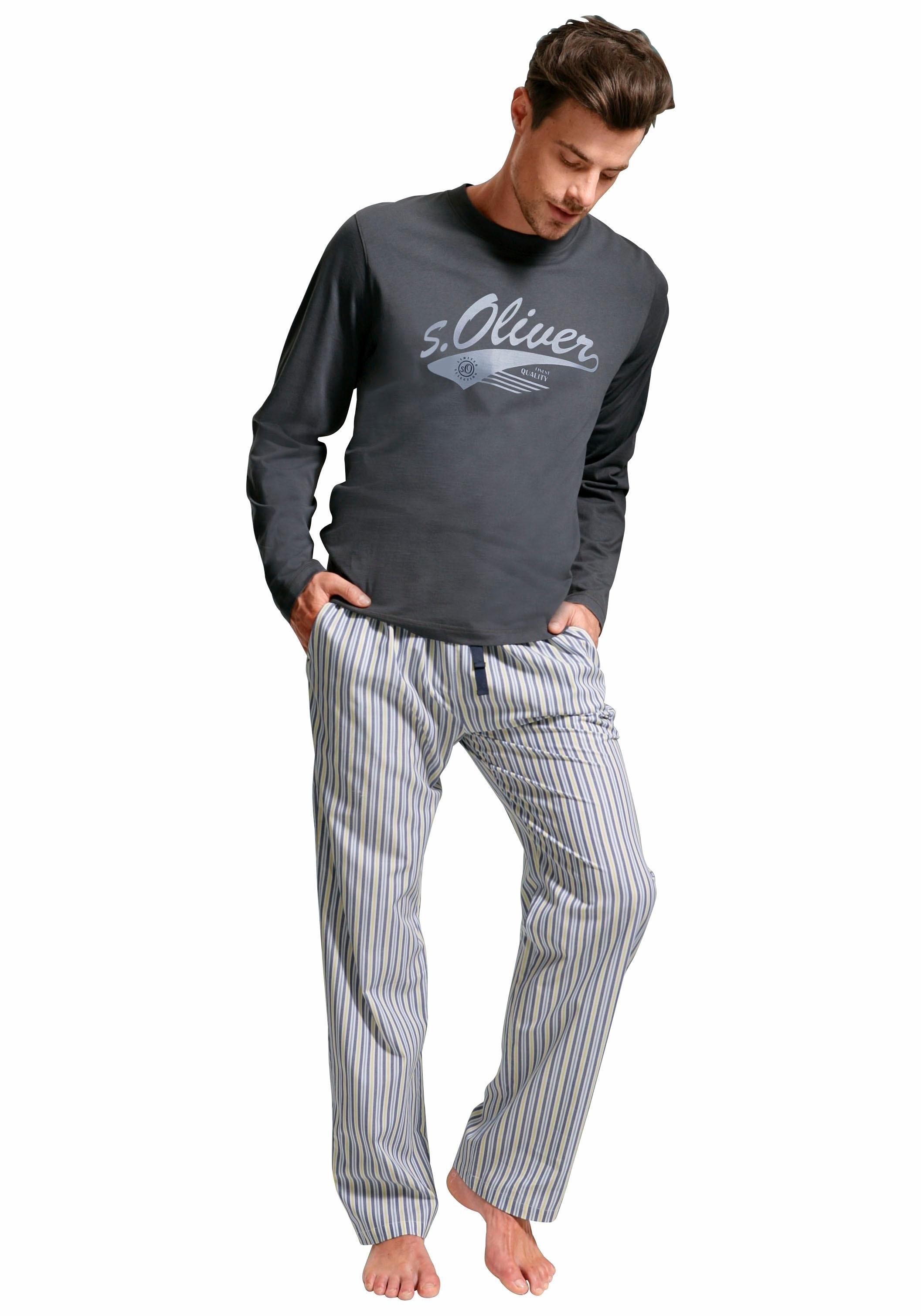 s.Oliver RED LABEL pyjama, lang nu online kopen bij OTTO