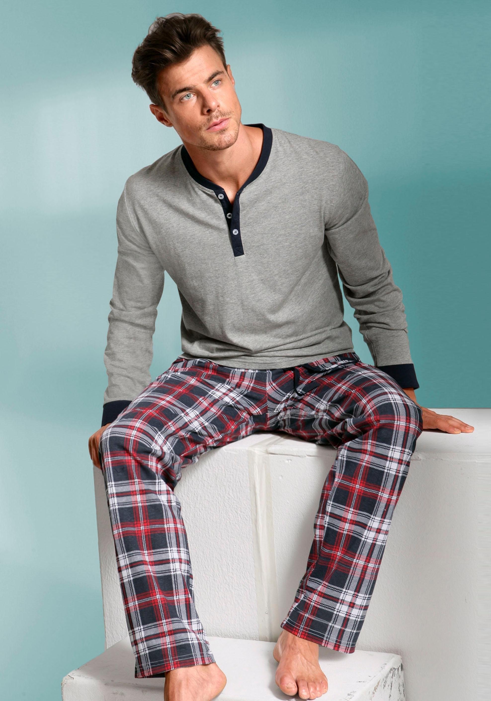 s.Oliver pyjama, lang nu online bestellen