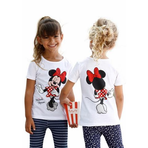 DISNEY T-shirt Minnie Mouse met Minnie-rugprint