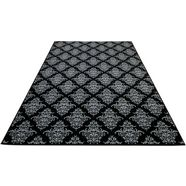 delavita vloerkleed manon orintaals design, woonkamer zwart