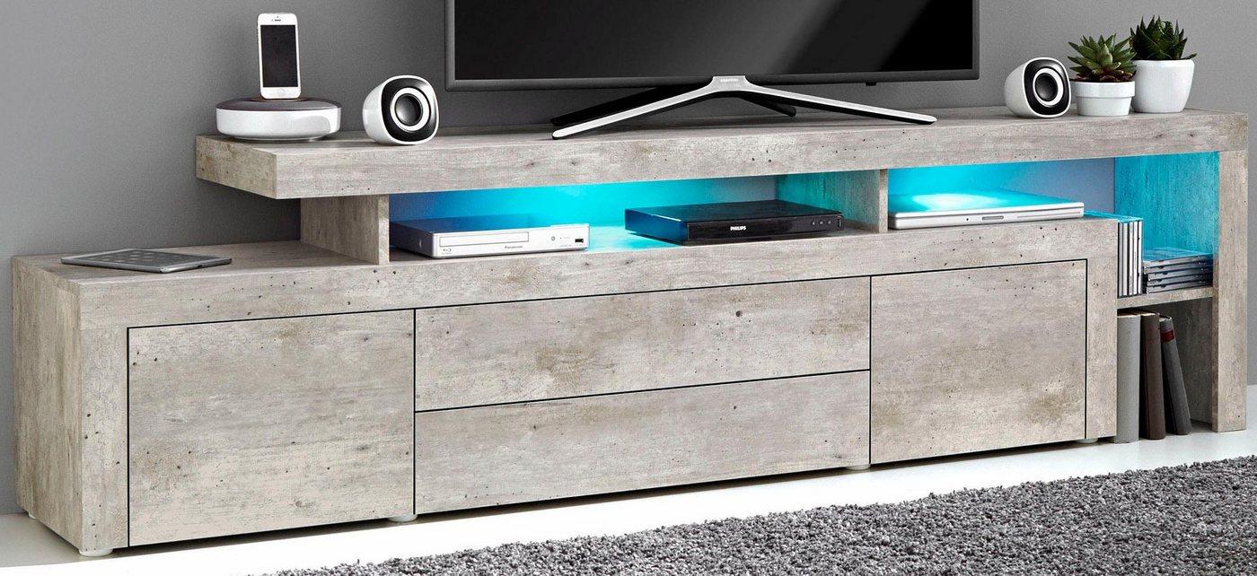 TV-meubel, breedte 193 cm