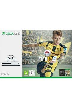 S 1 TB + Fifa17 (DLC) consoleset