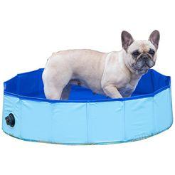 abuki hondenzwembad øxh: 80x20 cm blauw