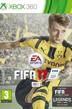 Xbox360, Fifa 17