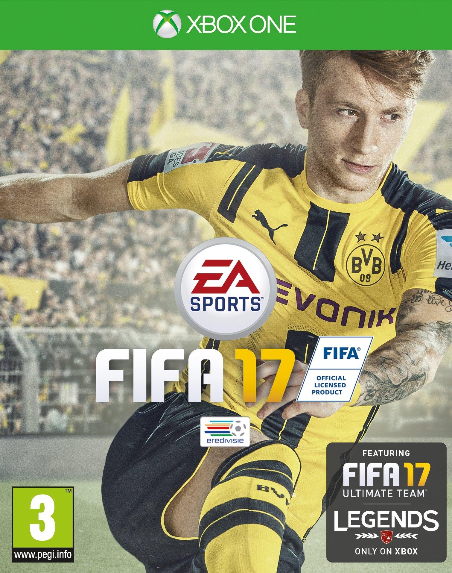 Microsoft Xbox One, Fifa 17 - verschillende betaalmethodes