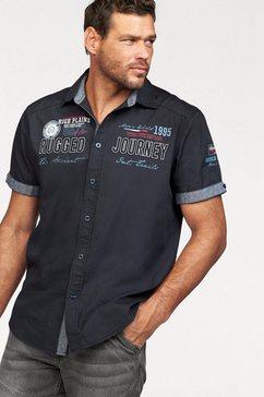 man's world overhemd met korte mouwen
