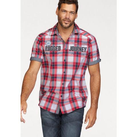 NU 15% KORTING: MAN'S WORLD overhemd met korte mouwen
