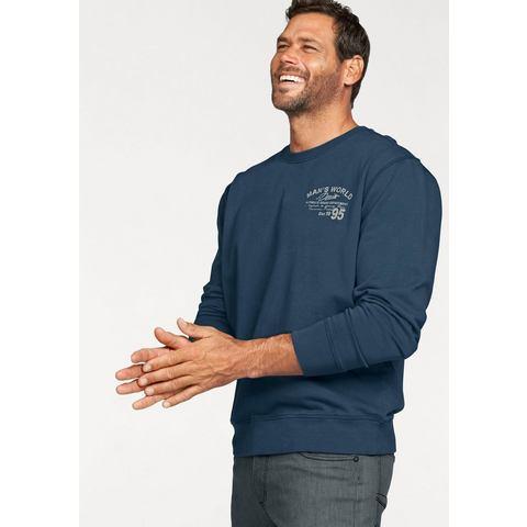 NU 15% KORTING: MAN'S WORLD sweatshirt