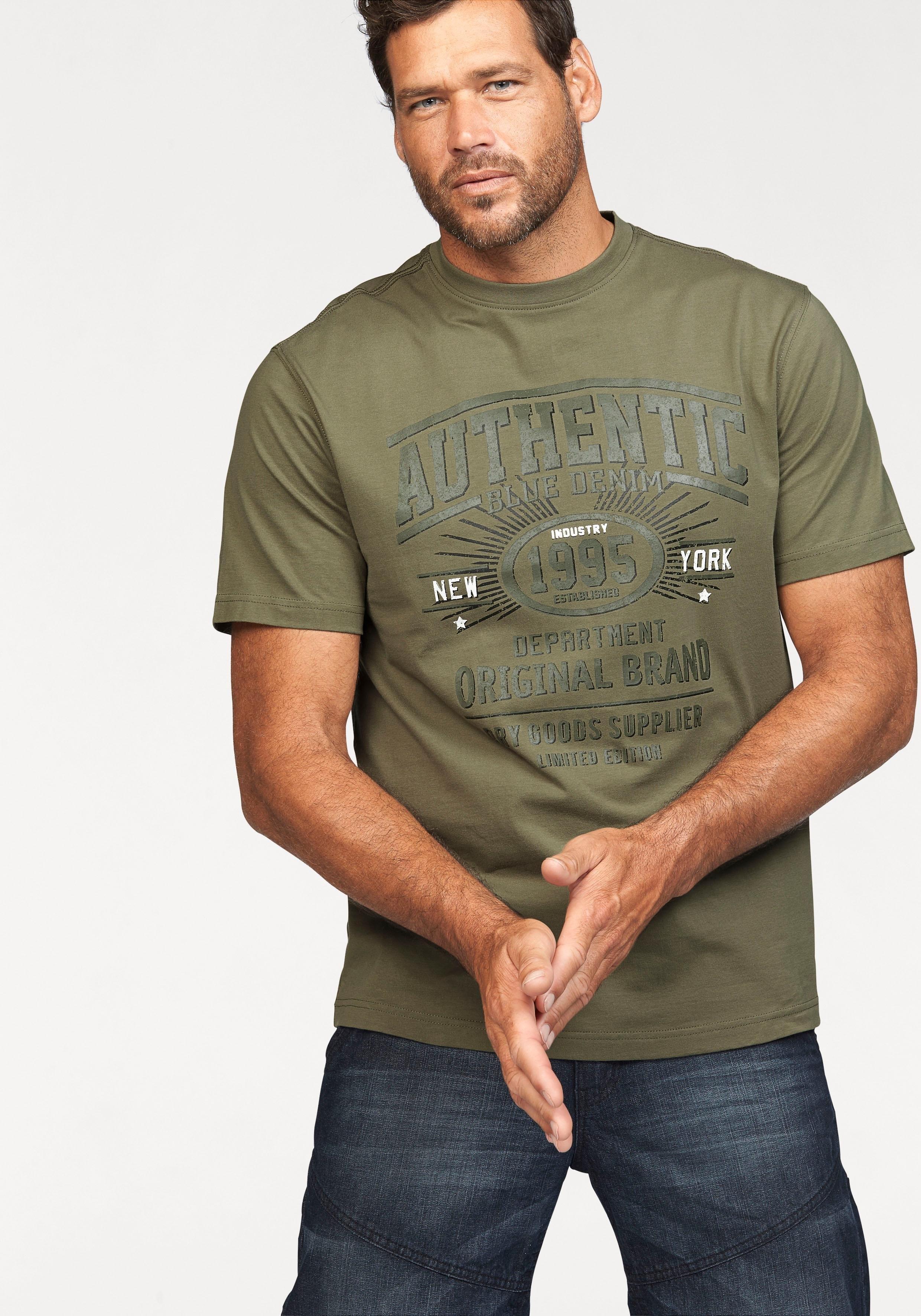 Man's World T-shirt prettig materiaal met een optimale pasvorm online kopen op otto.nl