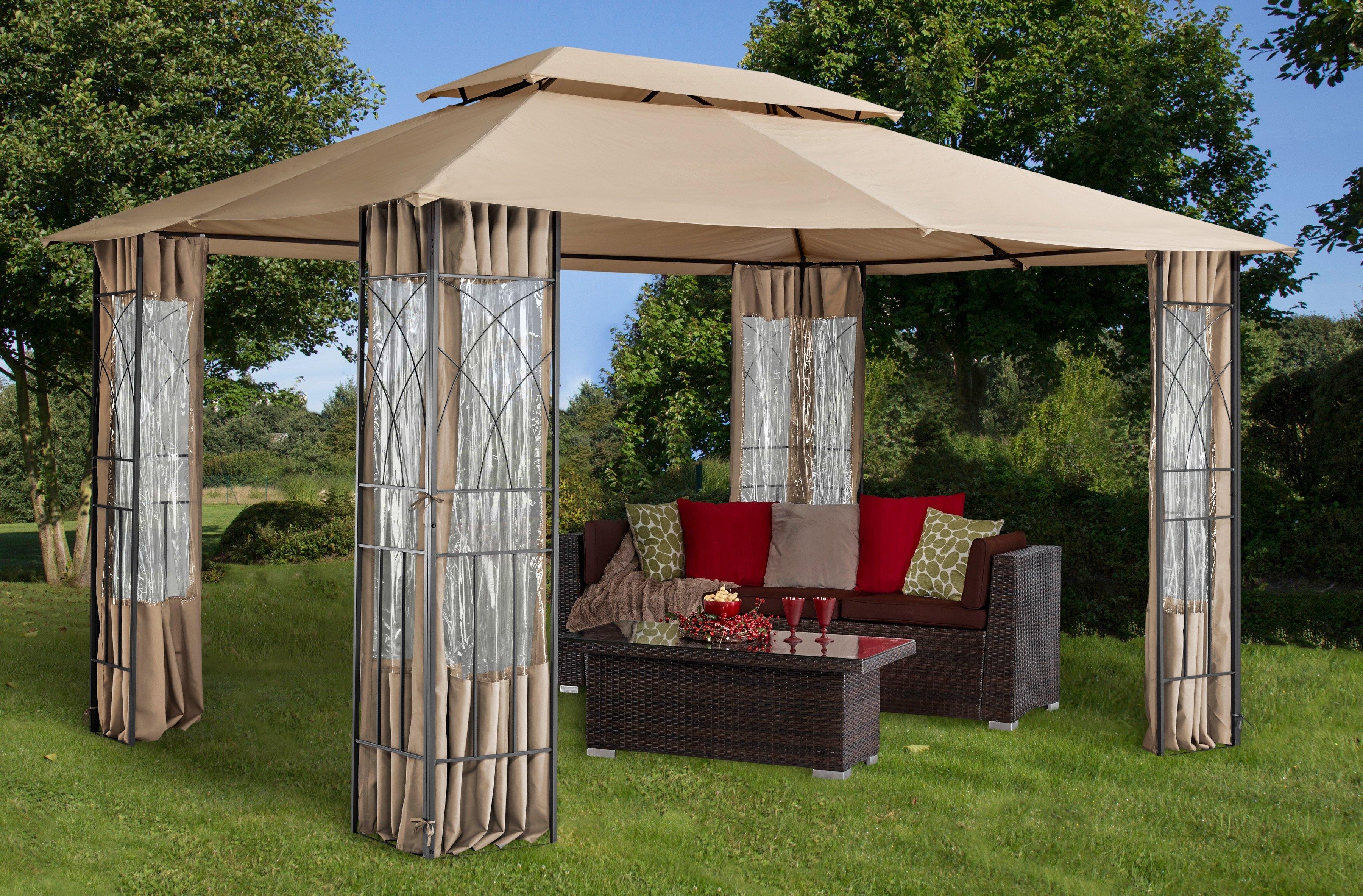 tuinprieel bogen bxl 300 x 400 cm zonder zijkanten. Black Bedroom Furniture Sets. Home Design Ideas