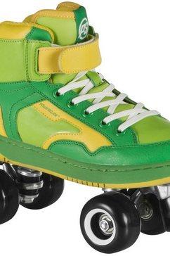 powerslide rollerskates, uniseks, »player green« groen